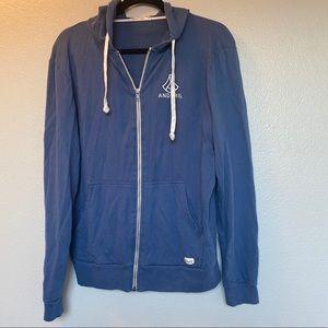 Marine Layer | Men's zip up hoodie sweatshirt
